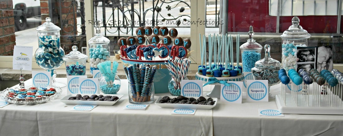 Candy Buffets - Rock Star Chocolates and Confections